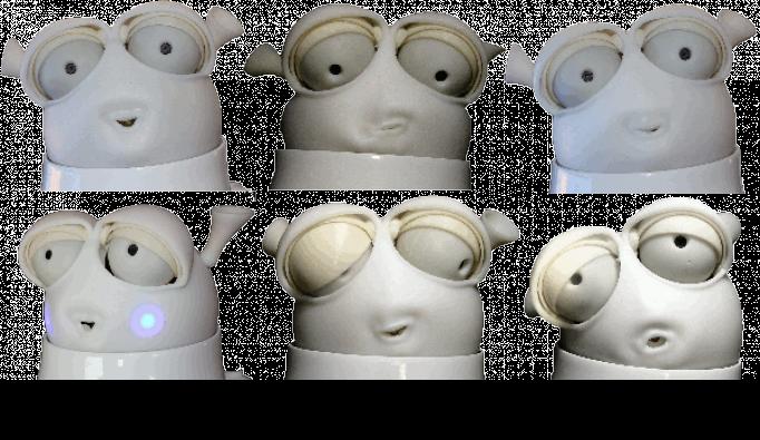 Reeti- robot expressif d'émotions- 2011 Robopec- Six-Fours-les-Plages (Var)